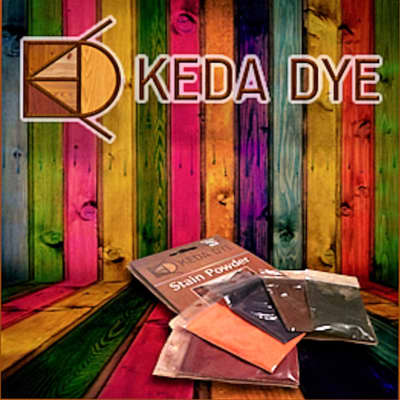 Keda Wood Dye - 5 Color Kit