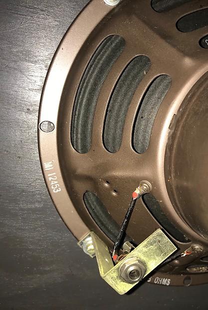 Vintage Mid Century Rca 400 16mm Loudspeaker Mi 1312 Reverb