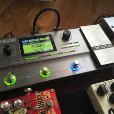 Mooer GE200 Amp Modeller and Multi Effects