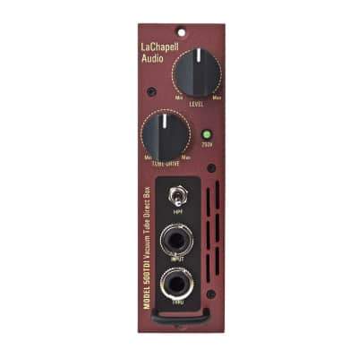 LaChapell Audio 500TDI Tube Direct Box for 500 Series | Free Shipping from Atlas Pro Audio!