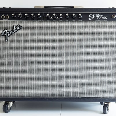 "Fender	Stage 160 2-Channel 160-Watt 2x12"" Solid State Guitar Combo	1999 - 2002"