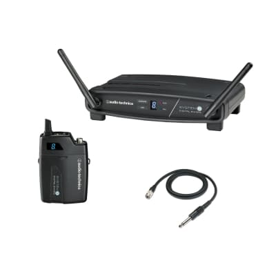 Audio-Technica ATW-1101/G 10 ATW-1101/G Wireless Guitar System  2-Day Delivery