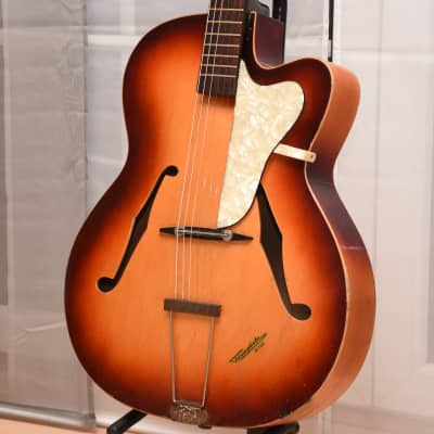 Klira Triumphator – 1960s German Vintage Archtop Jazz Guitar Gitarre for sale