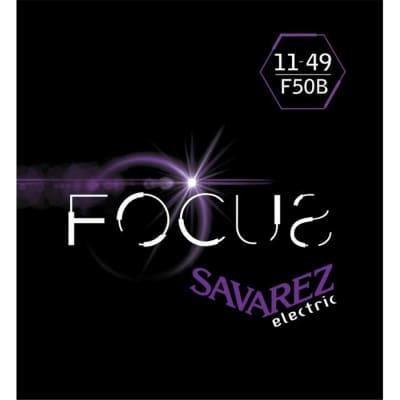 Savarez F50 B Corde Focus Per Chitarra Elettrica 11 49. Set/6