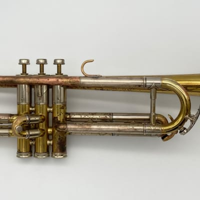 1940 Lacquer King 2B Liberty Bb Trumpet