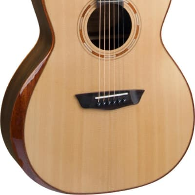 Washburn WCG10SENS Comfort Series Grand Auditorium Acoustic Electric Solid Spruce Top, Mahogany B&S