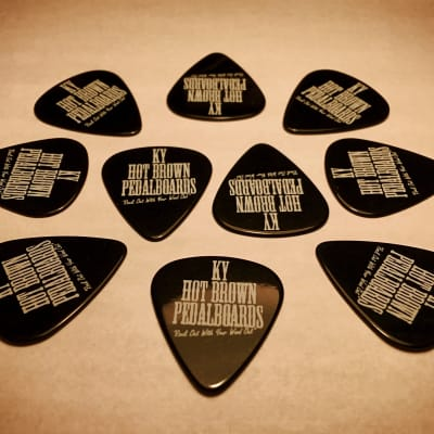 Signature Black Picks 10 Pack - By KYHBPB - Available Now!