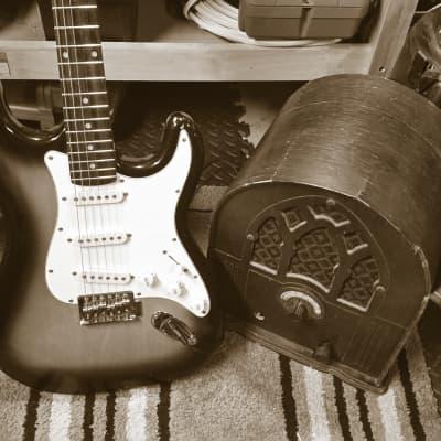 Antique Franklin Vintage Solid State Radio Turned Guitar Amp