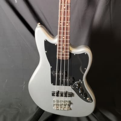 Squier Vintage Modified Jaguar Bass Special SS (Short Scale) 2010s Silver