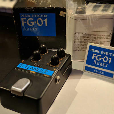 Pearl FG-01 Flanger Mint In Box for sale