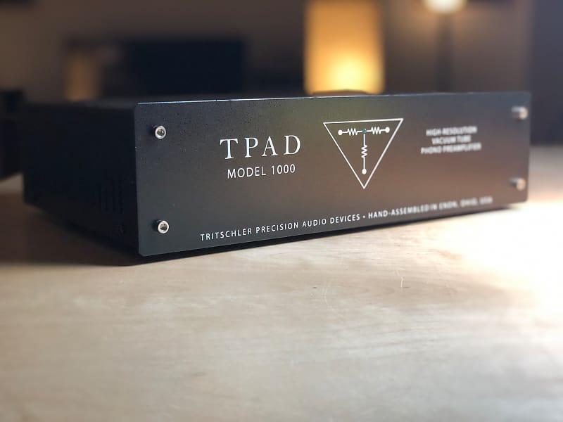 TRITSCHLER TPAD MODEL 1000 HIFI TUBE PHONO PREAMP grlc1904