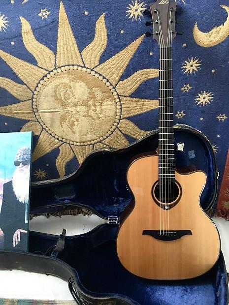 lag t500ace acoustic electric midtown guitar company reverb. Black Bedroom Furniture Sets. Home Design Ideas