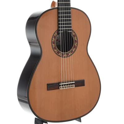 Jose Ramirez Guitarra Del Tiempo Classical Guitar and Case, Cedar Top Model for sale