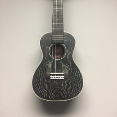 Black Quilted Ash Top, Back and Sides