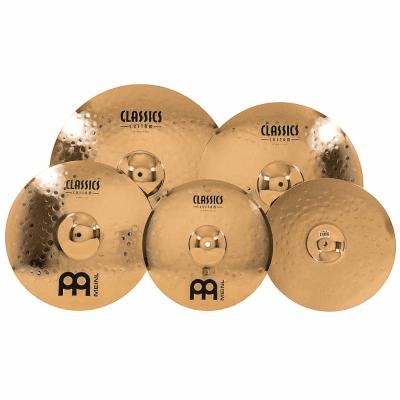 "Meinl CC141620+18 Classics Custom Bonus Pack 14/16/20"" Cymbal Set with Free 18"" Crash"
