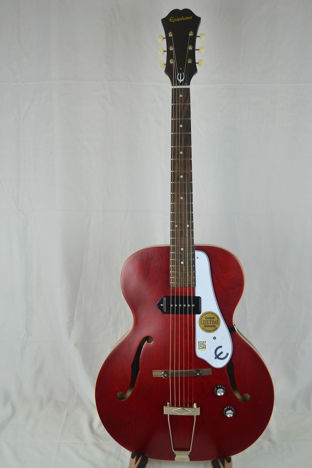 epiphone inspired by 1966 century archtop acoustic electric reverb. Black Bedroom Furniture Sets. Home Design Ideas