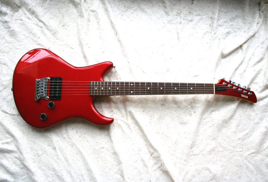 Yamaha Ss 700ex 1981 Candy Apple Red Metallic Guitar Co