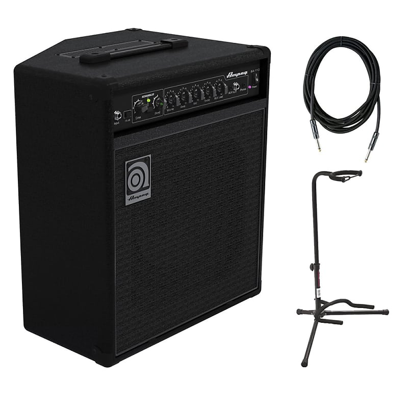ampeg ba 110v2 30w 1 x10 combo bass amplifier with sc10w reverb. Black Bedroom Furniture Sets. Home Design Ideas