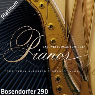 EastWest Quantum Leap Pianos Bosendorfer 290 Platinum Virtual Instrument (Download/Activation Card)