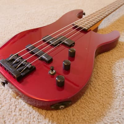 Charvel Model 4B Bass Late 80's Candy Apple Red for sale
