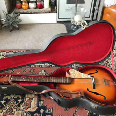 Vintage 1959 Klira Triumphator Deluxe Acoustic Jazz Guitar for sale