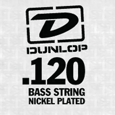 Dunlop DBN120T Nickel Wound Tapered Bass String - 0.12