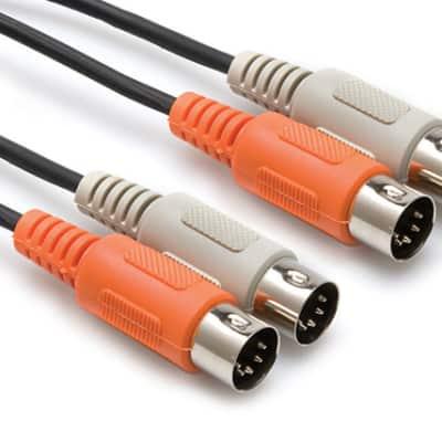 Hosa MID-204 Dual Midi Cable 4m