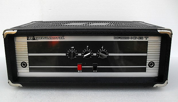 Vintage Dynacord Bass KING T RARE Valve Amplifier Great Bass Guitar Amp  Serviced