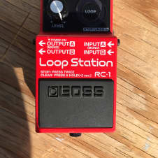 "Boss RC-1 Loop Station 2015 ""Red"""