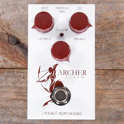 J.Rockett Tour Series Archer Clean Overdrive/Boost MINT