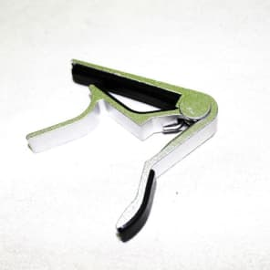 Quick Change Capo For Acoustic Electric Guitar Aluminum chrome finish easily operates with one hand for sale