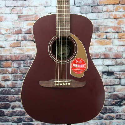 Fender Malibu Player Acoustic-Electric Guitar | Burgundy Satin for sale
