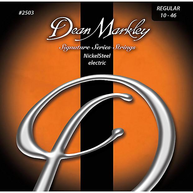 Dean Markley Nickel/Steel Electric Guitar Strings, REG 10