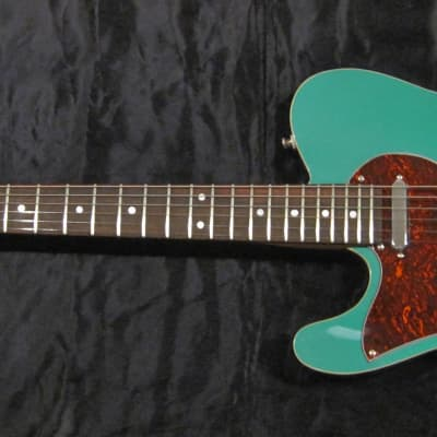 Dan Ransom Lefty T-style electric guitar 2020 Sherwood green metallic for sale