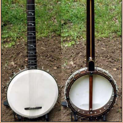 Paramount Guitar Banjo Harp 1927  - Unique to be sure ! for sale