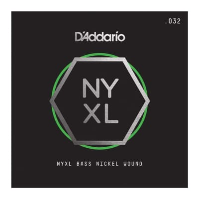 D'Addario Single NYXL Bass String | Various Sizes - .032 Long