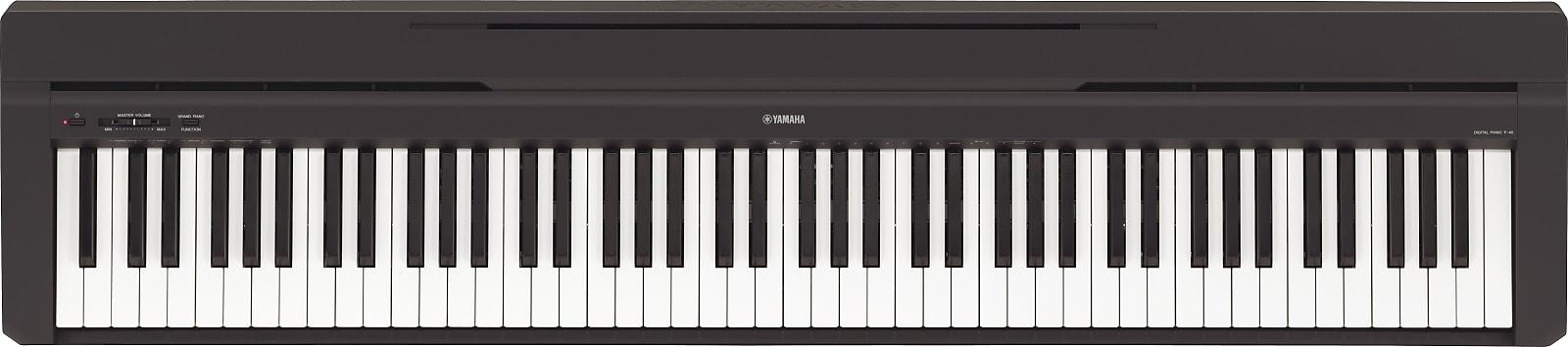 Yamaha P-45 88-Key Digital Piano w/ Stand- Black 2019