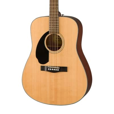 Fender CD-60S LH Solid Spruce/Mahogany Dreadnought (Left-Handed) Natural