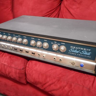 Heathkit TA17 amp head in clean condition cosmetically great shape cool 1960's? for sale