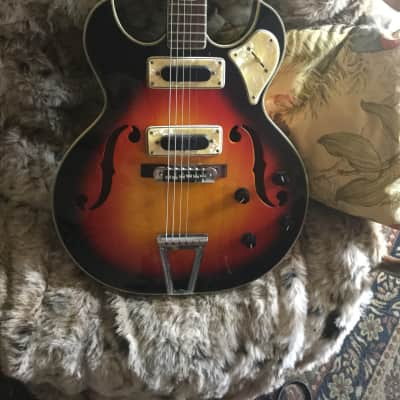 Greco Sticker on back of headstock says DragonWickv 1960's  Fujigen factory which later became Fende for sale