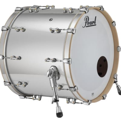 "Pearl Music City Custom Reference Pure 22""x20"" Bass Drum w/BB3 Mount RFP2220BB - Mirror Chrome"