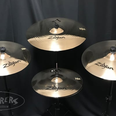 Zildjian A Custom 5 Piece Box Cymbal Set