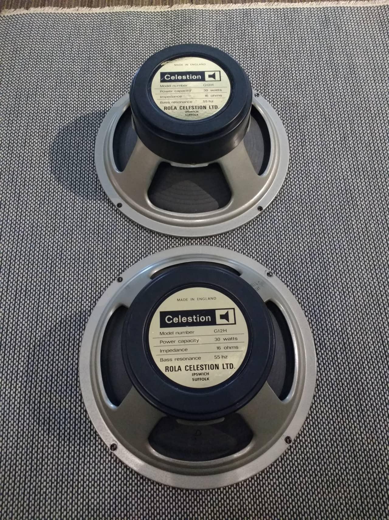 Celestion Rola G12H speakers 70s | Acoustic Music Shop