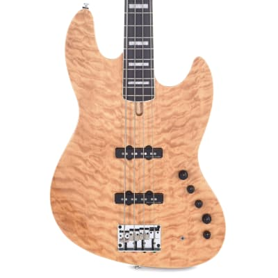 Sire Marcus Miller V9 Swamp Ash/Quilted Maple 4-String Natural (2nd Gen)