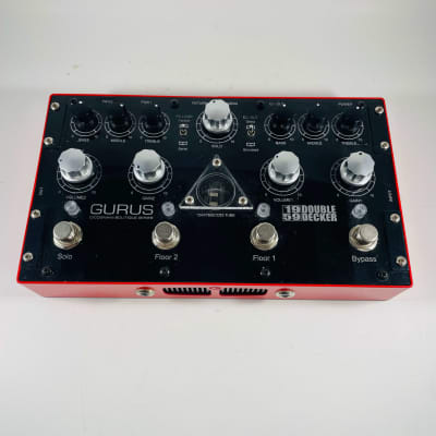 Gurus 1959 Double Decker Dual Preamp Pedal *Sustainably Shipped*
