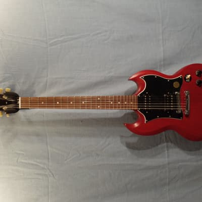 "Gibson SG Special ""Large 'Guard"" 2010 Faded Cherry w/ Dedicated Hard Shell Case"