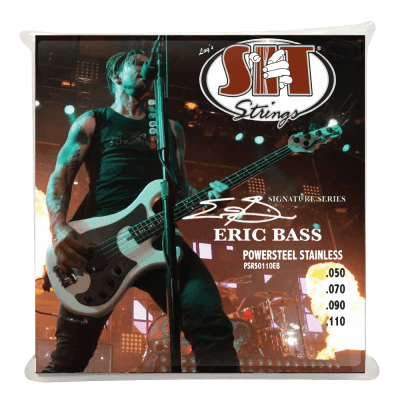 S.I.T Strings Eric Bass Signature 4 string 50-110