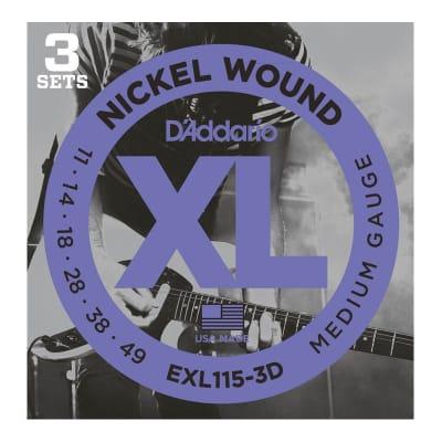 D´Addario EXL115-3D 11-49 Electric Strings Set