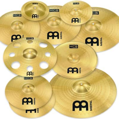 """Meinl HCS-SCS1 Ultimate Cymbal Box Set 8/10/14/14/14/16/16/18/20"""" Cymbal Pack"""