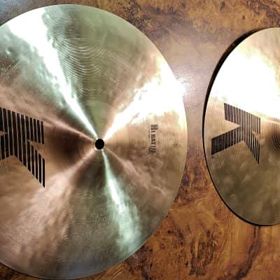"""Zildjian 13"""" K Hi-Hats   JB20043026/JJ12500035"""